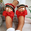 Thumbnail: Sophie Bow Flatform Sliders INCLUDES SHIPPING!