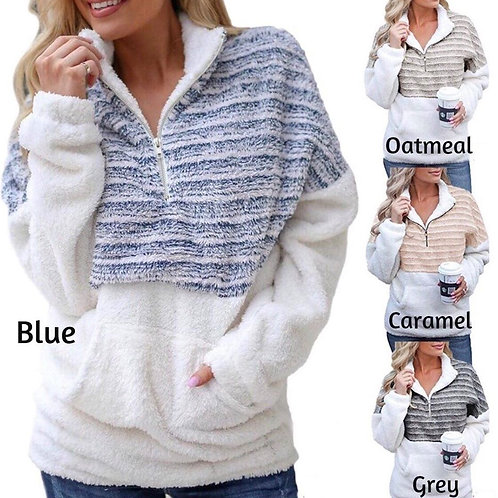 Warm Me Up Sherpa Pullover INCLUDES SHIPPING!