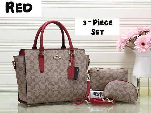 Coach 3 Piece Set INCLUDES SHIPPING!