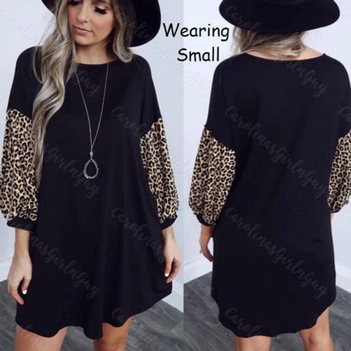 Back In Black Oversized Dress INCLUDES SHIPPING!