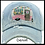 Thumbnail: Happy Camper Distressed Baseball Cap INCLUDES SHIPPING!
