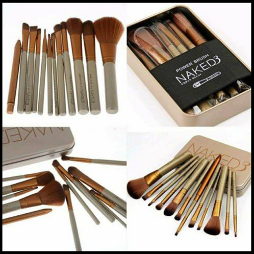 Naked 12 Piece Makeup Brush Set INCLUDES SHIPPING!