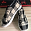 Thumbnail: Pretty In Plaid Slip On Sneakers INCLUDES SHIPPING!