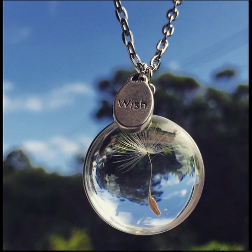 Dandelion Wish Necklace INCLUDES SHIPPING!