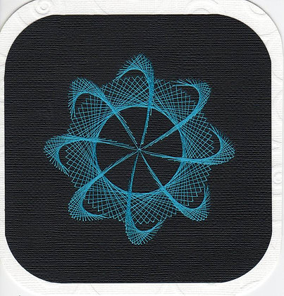 Orbit in Turquoise