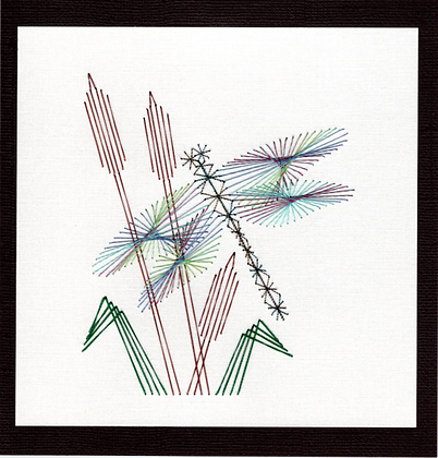 Dragonfly & Cattails