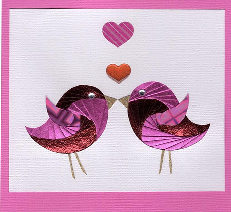 Love Birds in Pink
