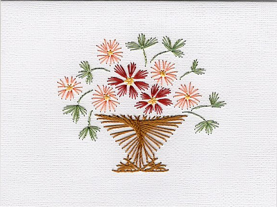 Beautiful Basket of Flowers