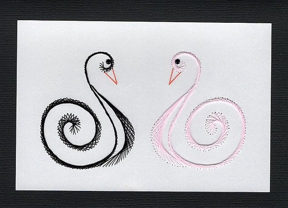 Gazing Swans