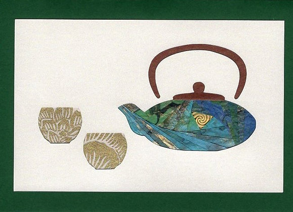 Japanese Teapot with Cups