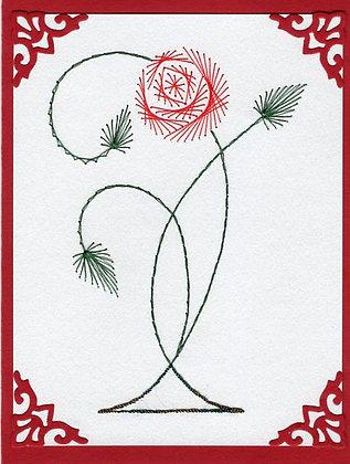 Art Deco Single Celtic Rose