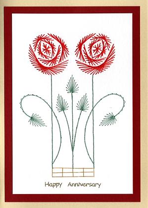 Art Deco Double Celtic Rose