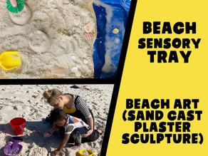 Families Make It! Beach Art