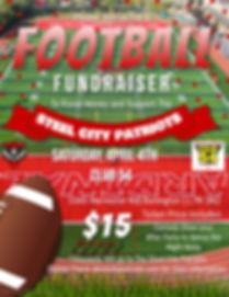 Copy of Football Fundraiser Flyer - Made