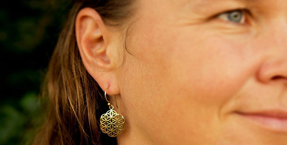 Flower of Life Earrings small