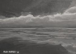 Overcast on Old Orchard Beach