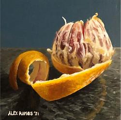 A Peeling Orange