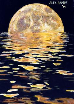 Dissolving Moon