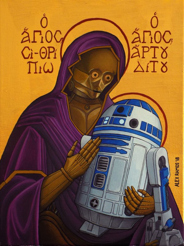 St. R2-D2 and St. C-3PO, Madonna an2
