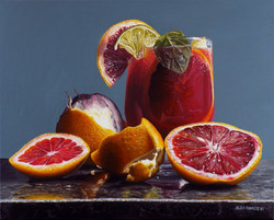 Blood Orange Mojito #2