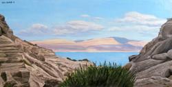 Dead Sea from Ein Gedi