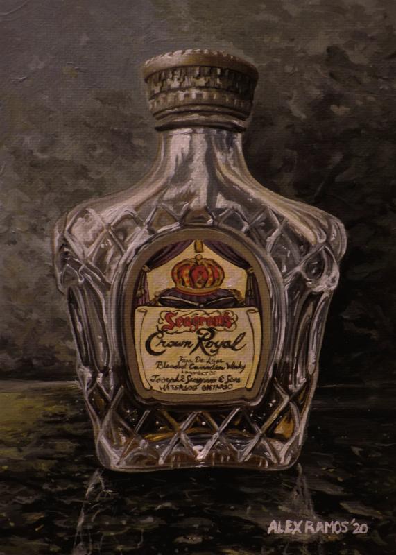 Crown Royal Mini Bottle