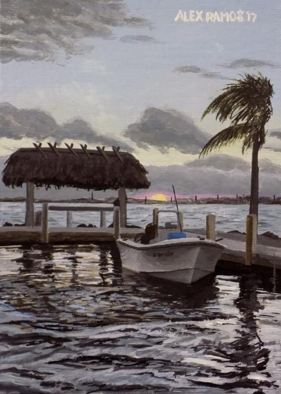 Sunrise in the Florida Keys