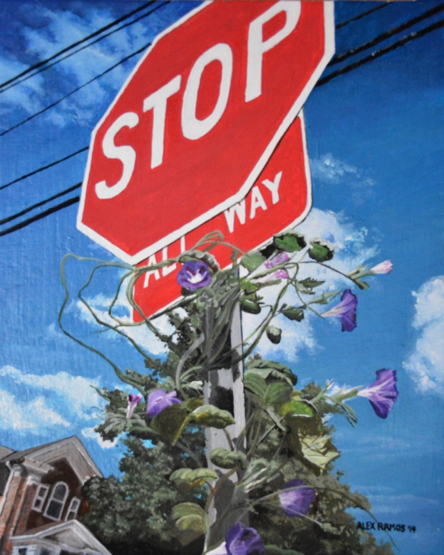 Growing a Stop Sign