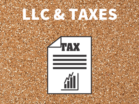 Which income tax returns does LLC file