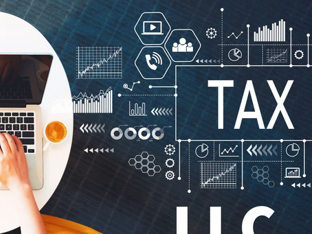 What is the LLC tax treatment & Federal / State Tax Brackets?