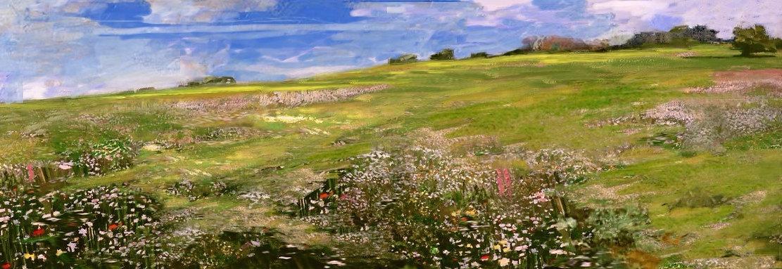 Hampstead Heath, Simon Hatchard-Parr paintings