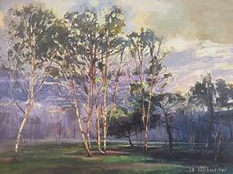 Simon Hatchard-Parr painting