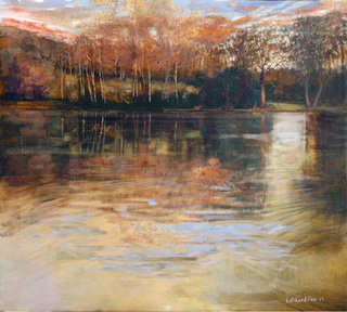 Autumn Pond - Prints from Original