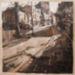 Simon Hatchard Parr Hampstead High Street paintin