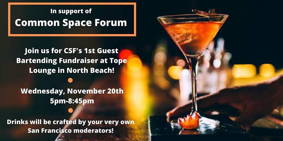 CSF Guest Bartending Fundraiser!