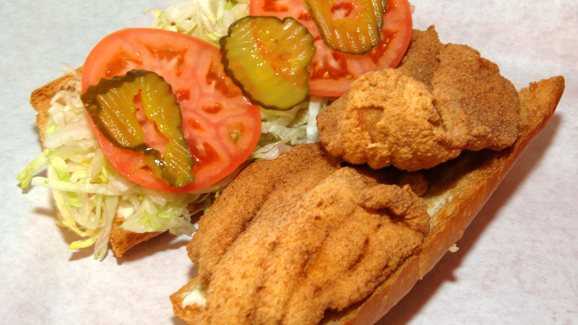 bánh mỳ Cá Catfish