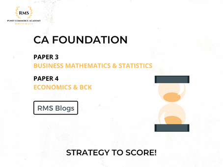 CA Foundation Strategy to Score!