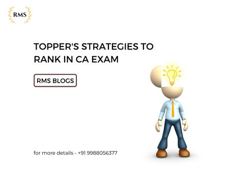 Topper's Strategies to Rank in CA Exam