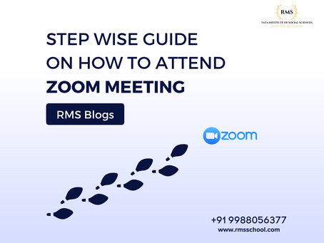 STEP WISE GUIDE ONHOW TO ATTEND ZOOM MEETING