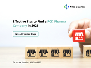 Effective Tips to Find a PCD Pharma Company in 2021