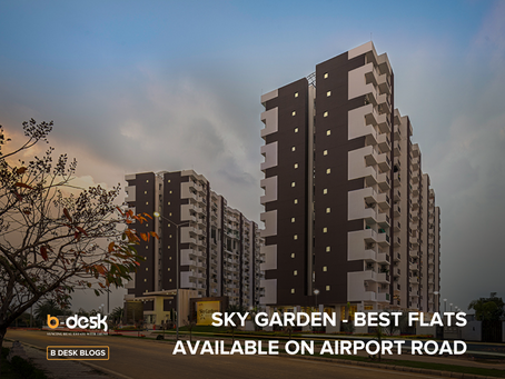 Sky Garden- Best Flats Available On Airport Road