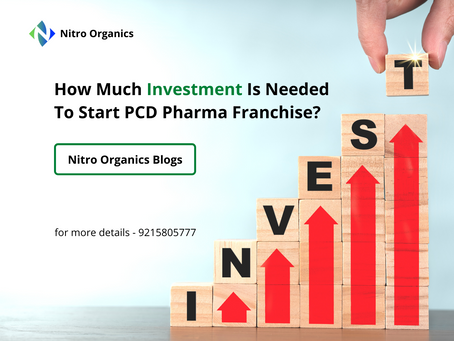 How Much Investment Is Needed To Start PCD Pharma Franchise?