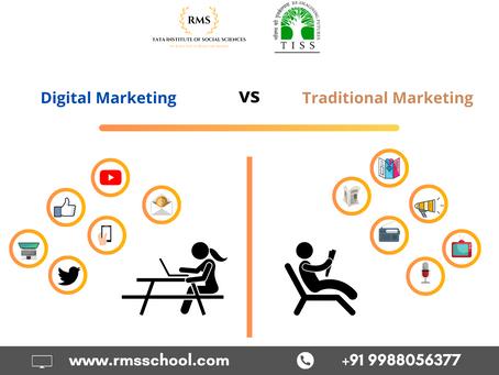 Why Digital Marketing beats Traditional Marketing?