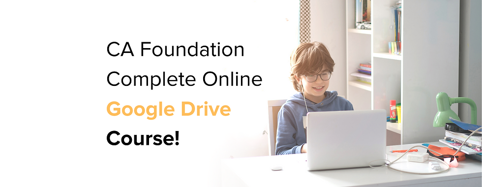 Google Drive Course
