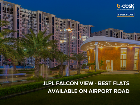 JLPL Falcon View - Best Flats Available On Airport Road