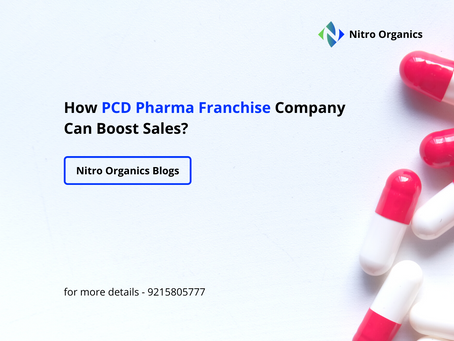 How PCD Pharma Franchise Company Can Boost Sales