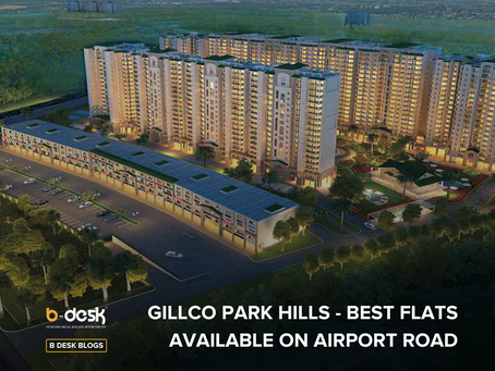 Gillco Park Hills - Best Flats Available On Airport Road