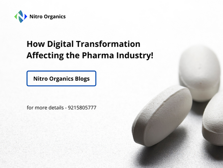 How Digital Transformation Affecting the Pharma Industry