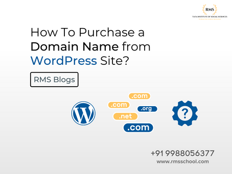 How To Purchase a Domain Name From WordPress Site