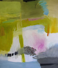SOLD, Green Passage, oil on canvas, 140x120cm_